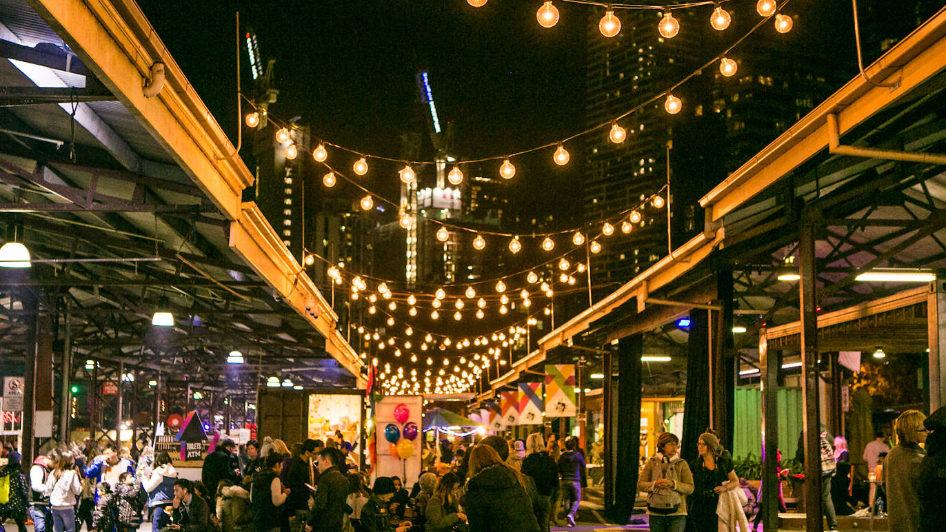 melbourne - night market